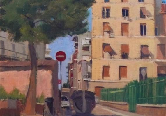 Via Ettore Giovenale, Pigneto