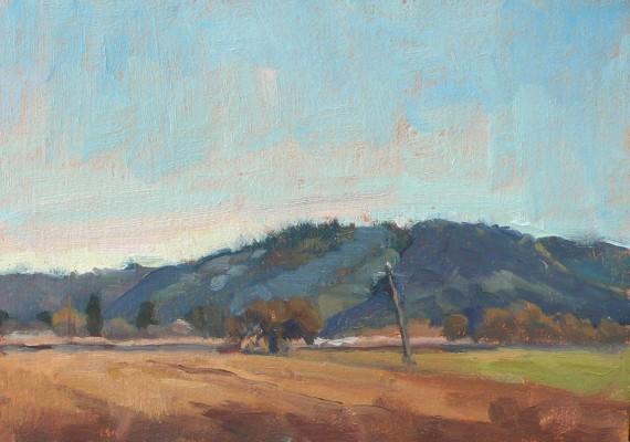 Morning Road to Morgan Hill, California