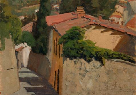 Via San Francesco, Fiesole