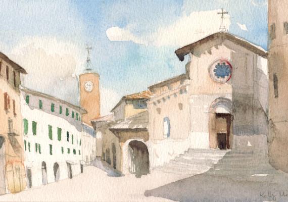Piazza della Repubblica, Orvieto