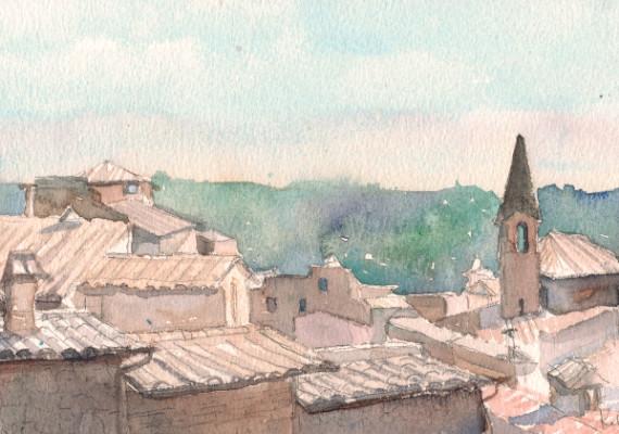 Rooftops, Orvieto