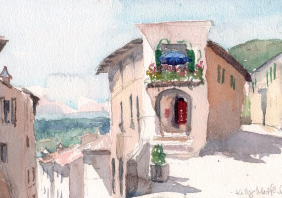 Via delle Cave, Orvieto