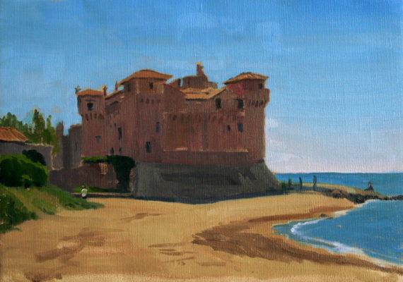 The Castle at Santa Severa