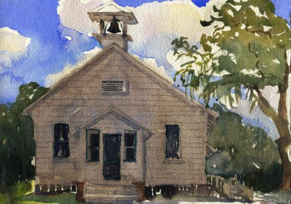 Old Myakka Schoolhouse, Florida