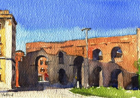The Aqueduct, Porta Maggiore