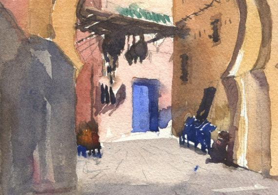 The Blue Door, Marrakech