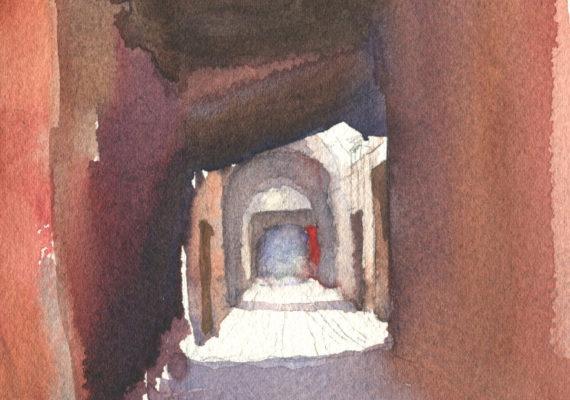 Alleyway in the Kasbah