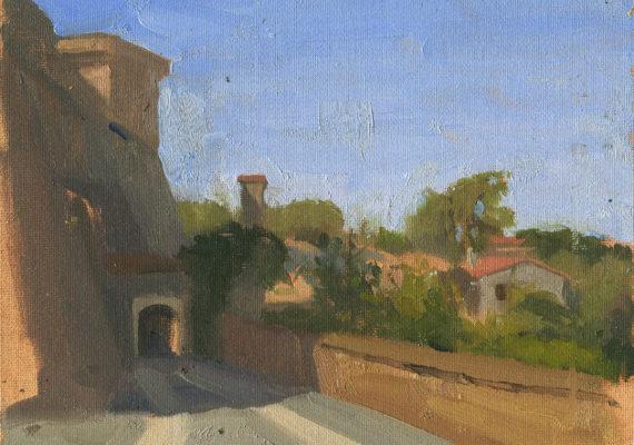 The Arched Bridge, Civita